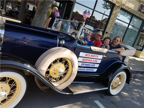 Congrats to NEAPWA Member and Past President, Rick Merson, who served as Grand Marshal in the Needham, MA 4th of July Parade.